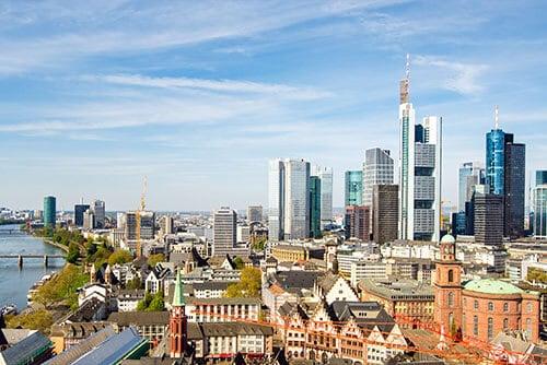 Hausverwaltung Standorte - Standort Frankfurt Skyline