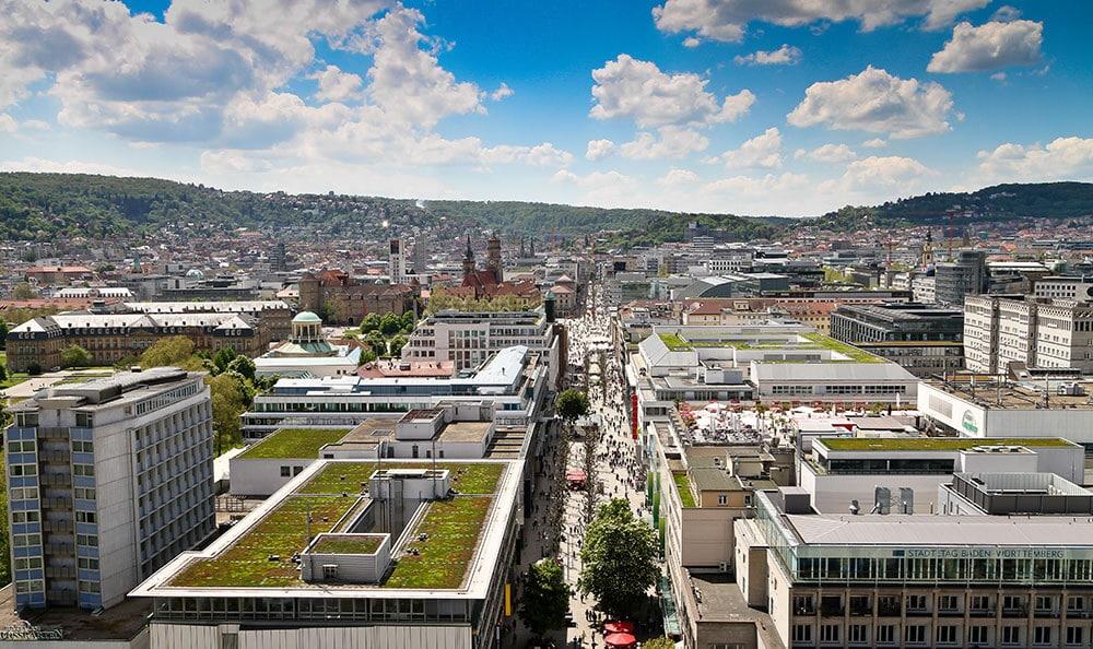 DIV - Deutsche Immobilien Verwaltung GmbH - Fokusstadt Stuttgart Skyline